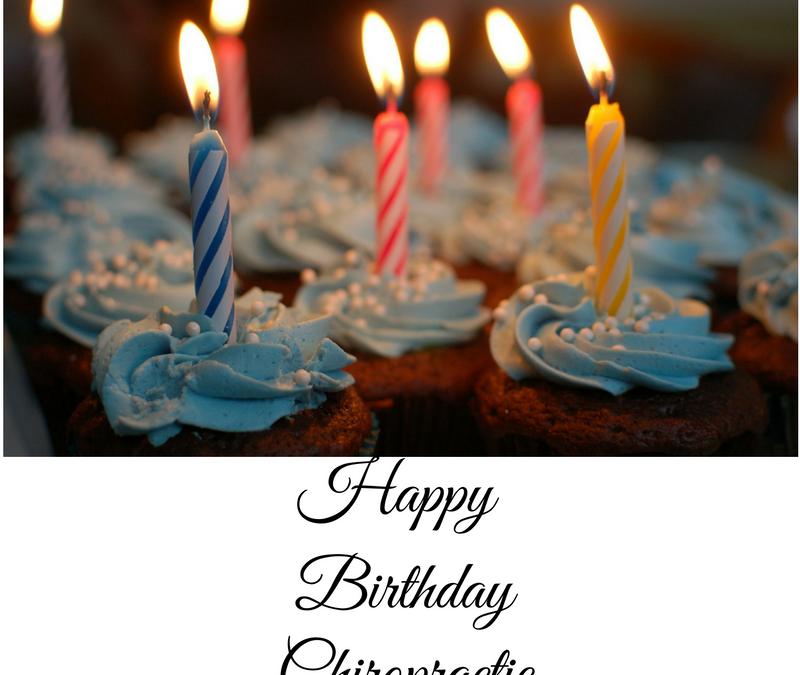 Happy Birthday Chiropractic